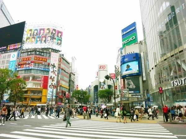 一目惚れの多い街「渋谷」