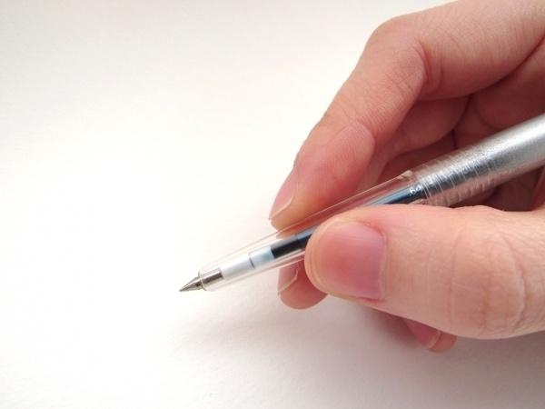 きれいな字を書くためのコツとは