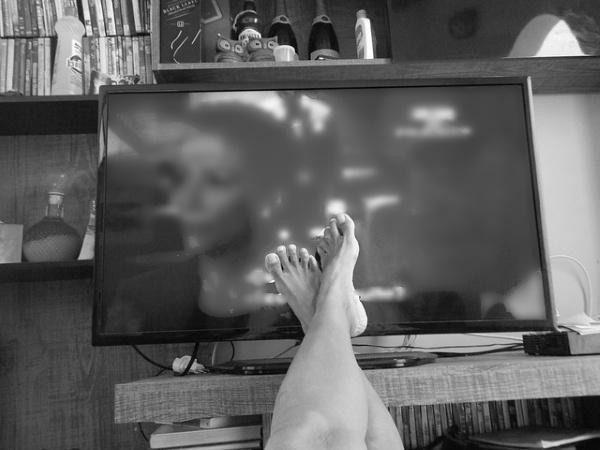 日曜の午後はテレビを見てドキドキ?