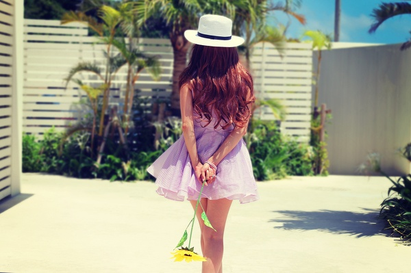 重要なのは、ふたりきりで静かな夏を楽しむこと。