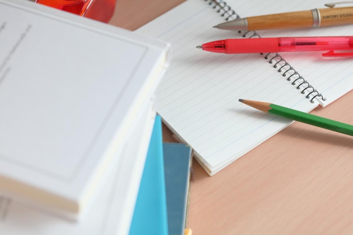 授業ノートに挫折する原因は……