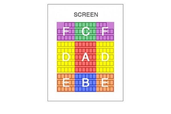 映画館で座る席から分かる人付き合いの傾向
